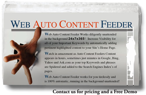 SEO Web Auto Content Feeder Software